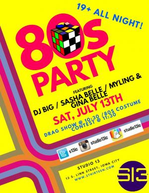 80's Drag & Dance party