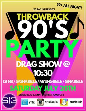 90's Drag & Dance party