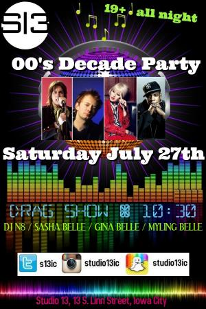 00's Decade Drag & Dance Party
