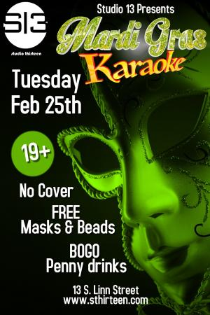 Fat Tuesday Mardi Gras Party