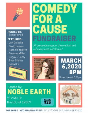 Comedy for a Cause Fundraiser