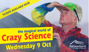 The Magical World of Crazy Science at Katoomba RSL
