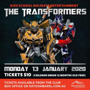 The Transformers at Katoomba RSL