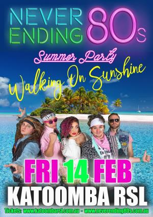 Neverending 80's at Katoomba RSL