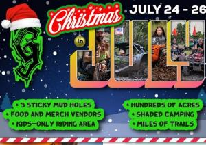 Christmas In July at The Graveyard Mud Bog