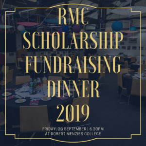 RMC Scholarship Fundraising Dinner 2019