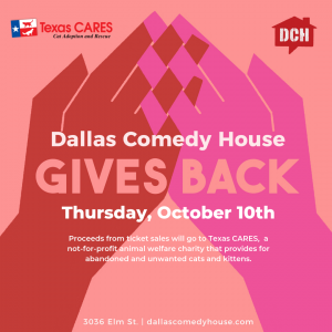 DCH Gives Back: Texas CARES