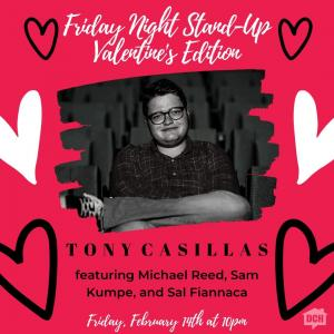 Friday Night Stand-Up Valentine's Edition