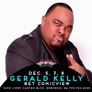GERALD KELLY from BET ComicView