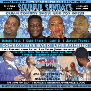 Soulful Sundays Clean Comedy