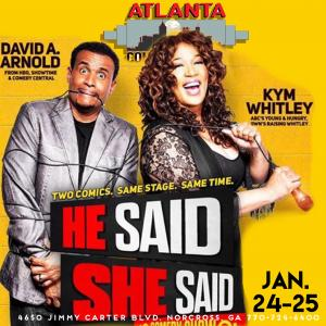 KYM WHITLEY & DAVID ARNOLD  (Special Engagement)
