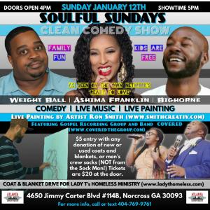 SOULFUL SUNDAYS Clean Comedy Show