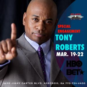 TONY ROBERTS Returns (Special Engagement)