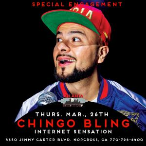 CHINGO BLING Returns (Special Engagement)