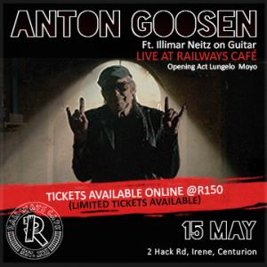 Anton Goosen Live at Railways Cafe