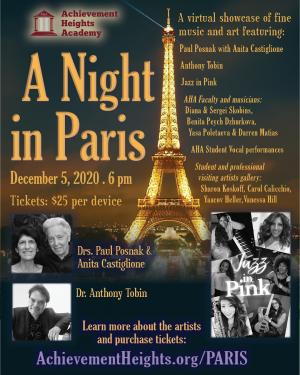 AHA Virtual Fine Art and Music: A Night in Paris