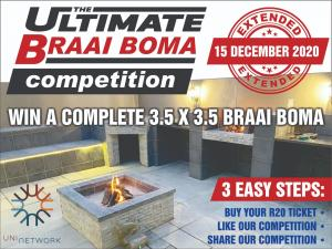 THE ULTIMATE BRAAI BOMA COMPETITION