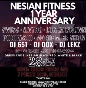 Nesian Fitness - One Year Anniversary Party