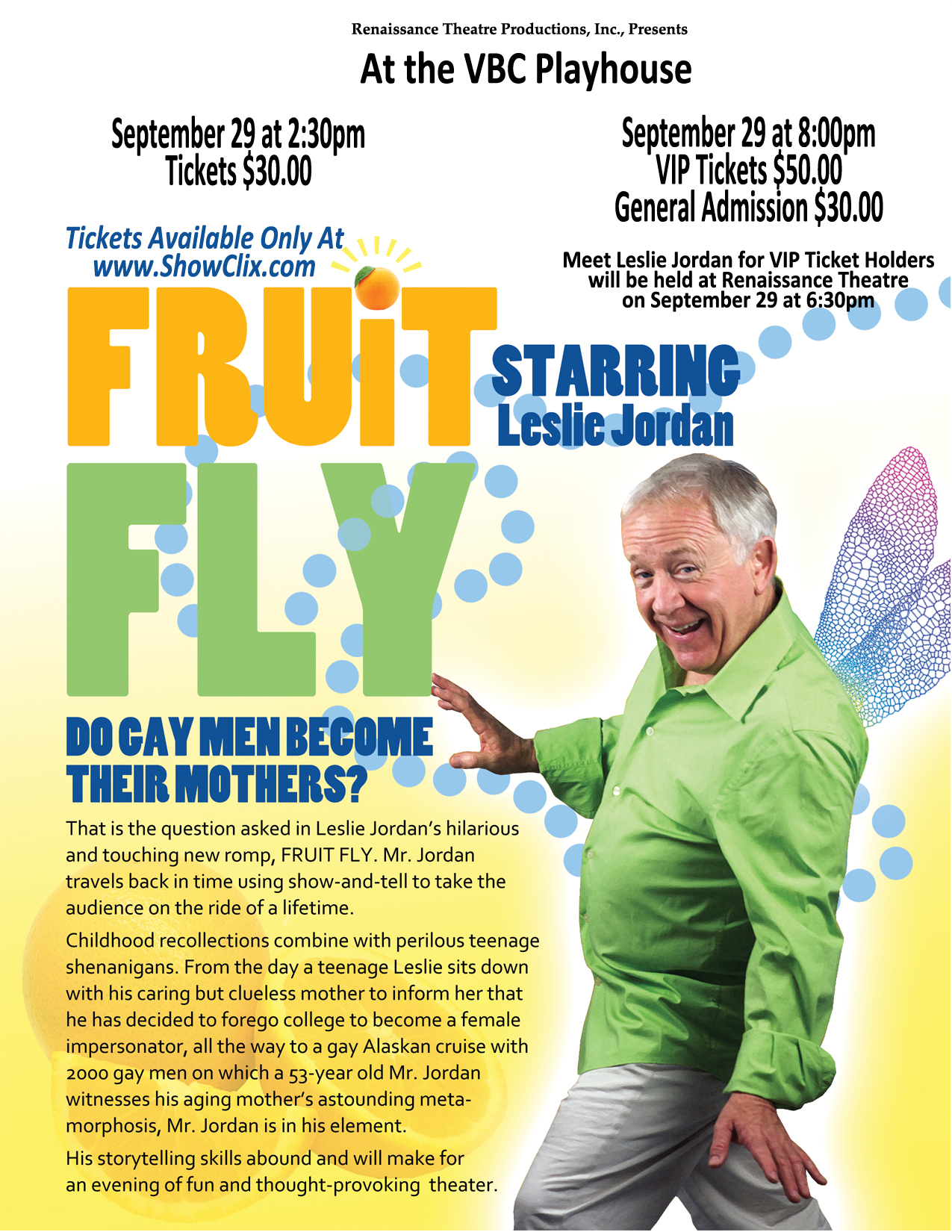 Gay fruit fly