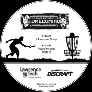 Homecoming Disc Golf Tournament