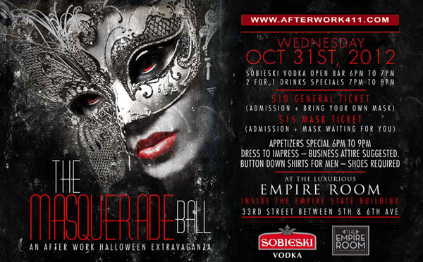 The Masquerade Ball After Work NYC