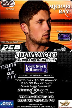 Michael Ray Live In Concert!