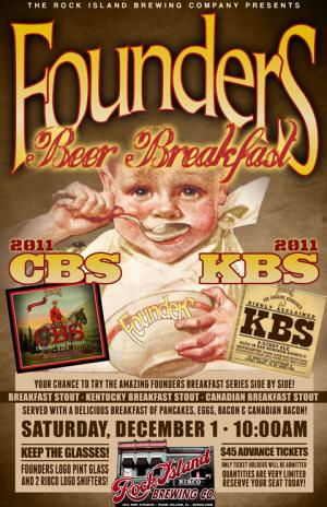 Founders Beer Breakfast