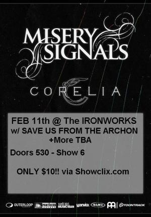 Misery Signals live @ The Ironworks