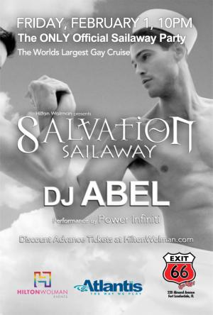 SALVATION Sailaway with DJ Abel
