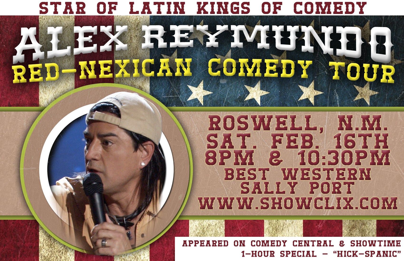 Paul Rodriguez Latin Kings Of Comedy Tour