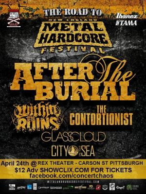 AFTER THE BURIAL -NOW @ REX THEATER