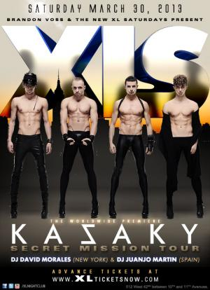 KAZAKY: Secret Mission Tour at XLS