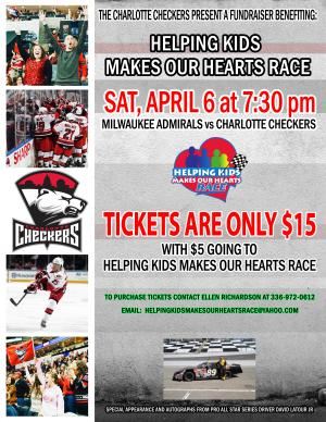 Charlotte Checkers Benefit Night