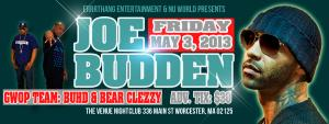 JOE BUDDEN LIVE IN CONCERT
