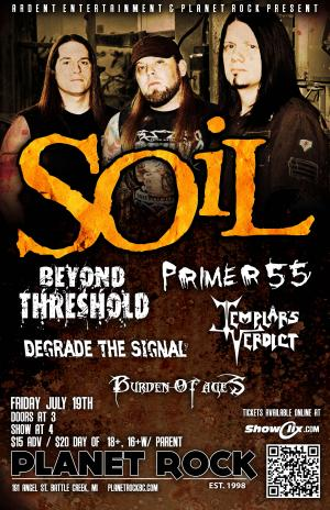 SOiL wsg. BEYOND THRESHOLD