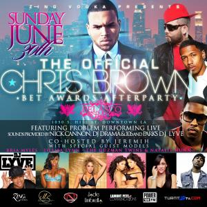 Chris Brown & Nick Cannon Official After Party