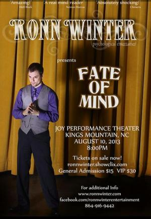 "Ronn Winter's ""Fate of Mind"""