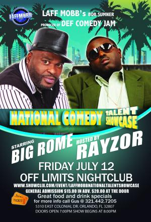 Laff Mobb National Comedy Talent Showcase