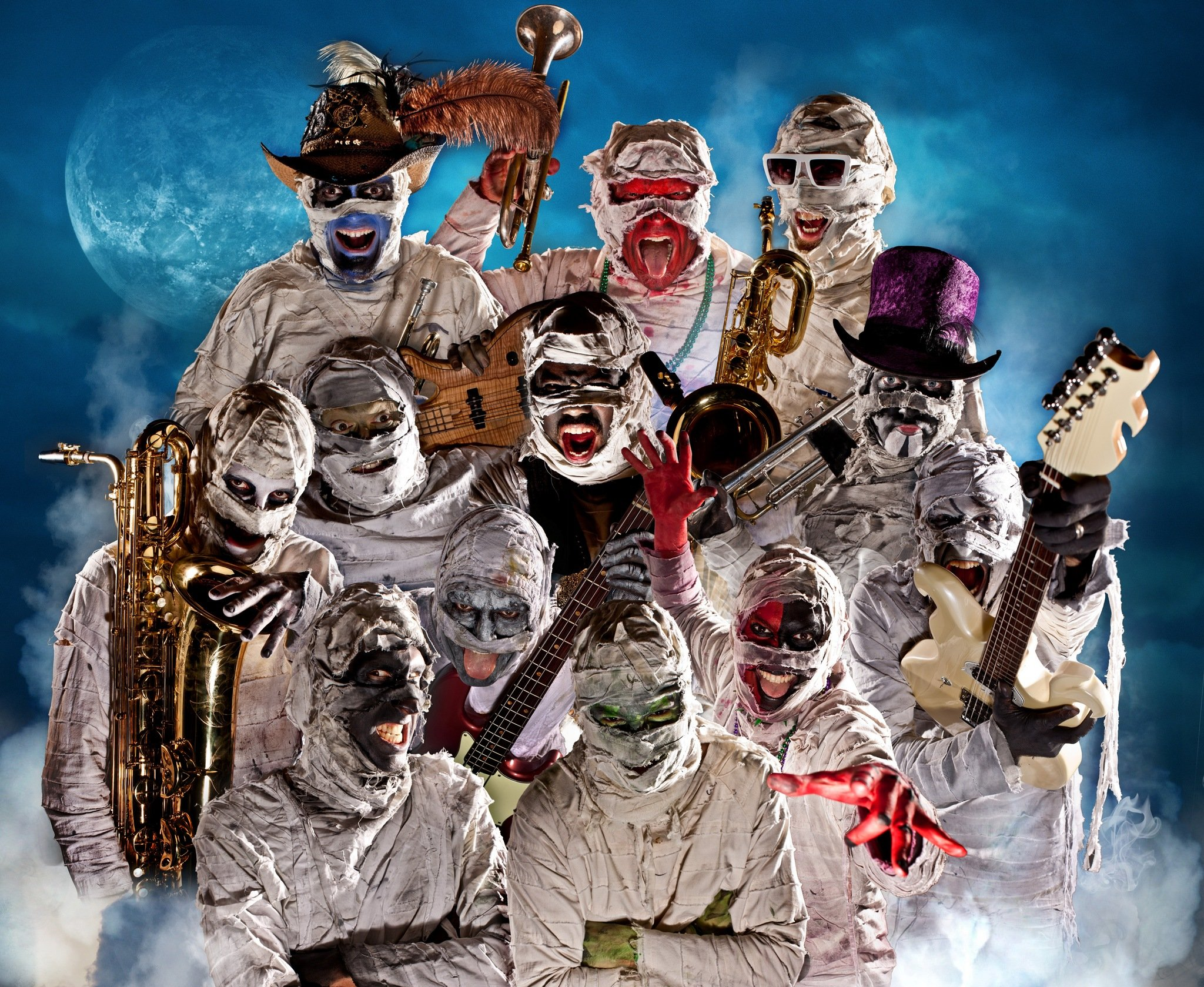 Tickets for Here Come The Mummies in Springfield from ShowClix: https://www.showclix.com/event/HereComeTheMummiesBoondocks