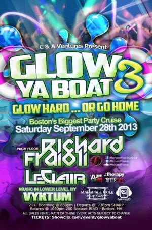 GLOW YA BOAT GLOW HARD OR GO HOME