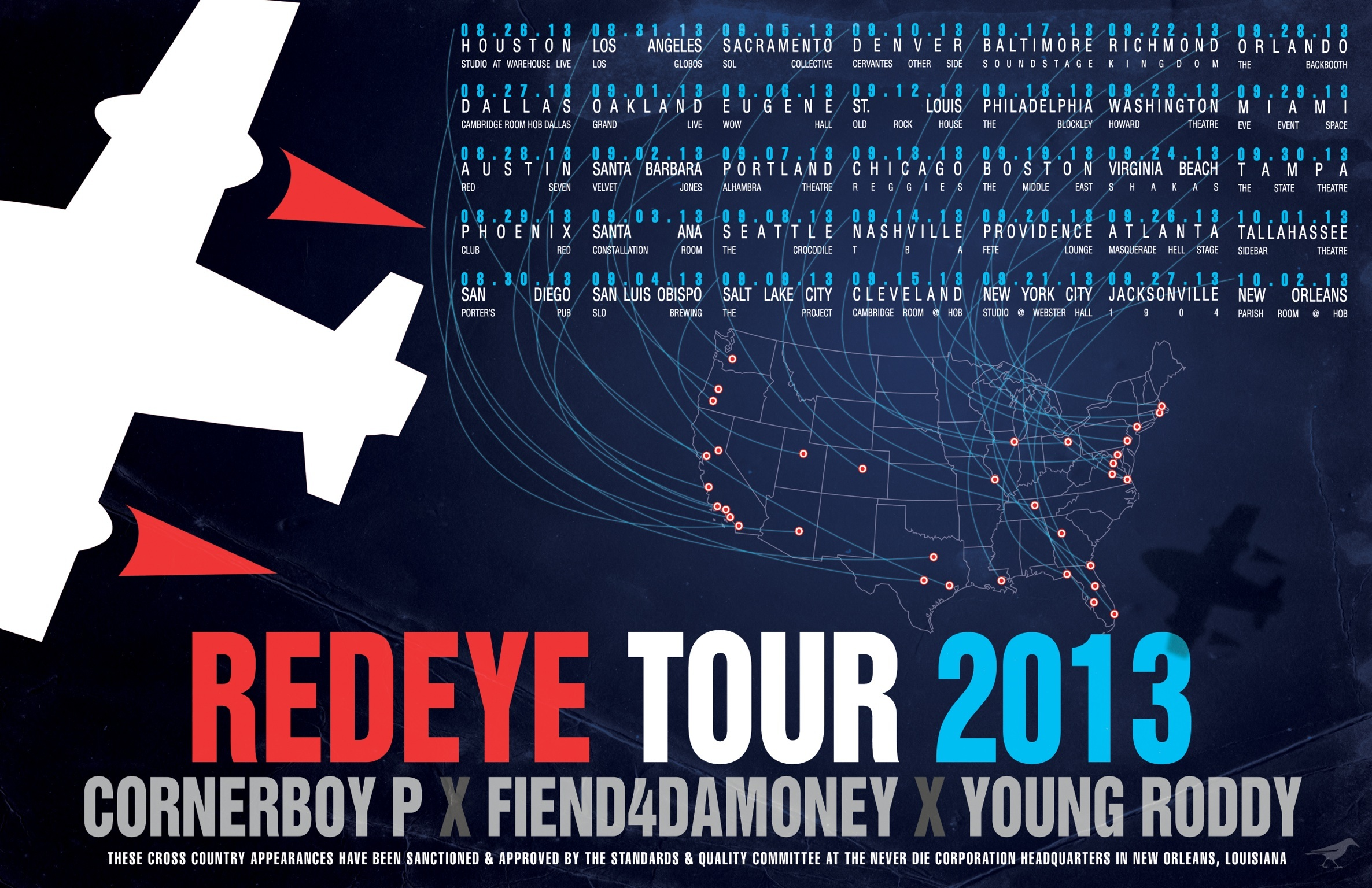 The Red Eye Tour