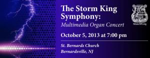 The Storm King Symphony: Multimedia Organ Concert