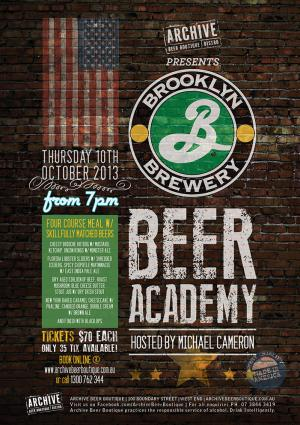 Brooklyn Brewery Beer Academy