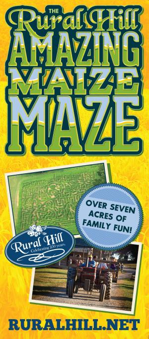 Rural Hill Amazing Maize Maze - NIGHT