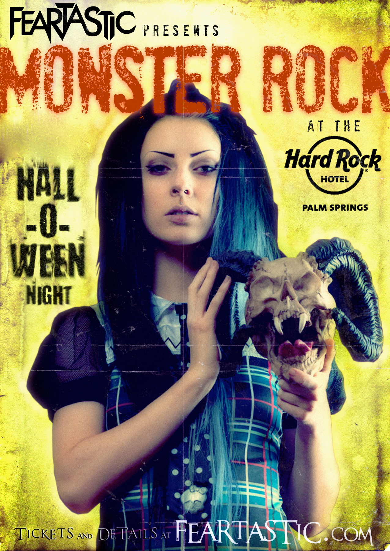 tickets for bb's monster rock halloween party at the hard rock in