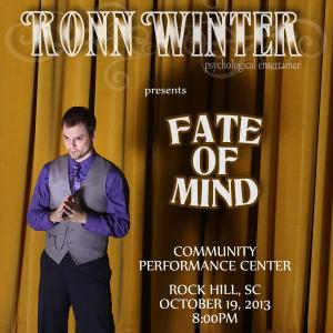 "Ronn Winter presents ""Fate of Mind"""
