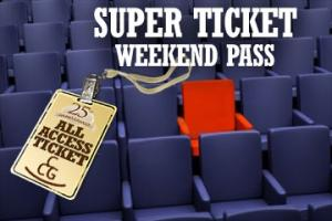 SUPER TICKET - Weekend Pass