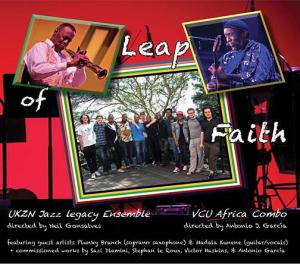 "VCU Jazz ""Leap of Faith"" CD"