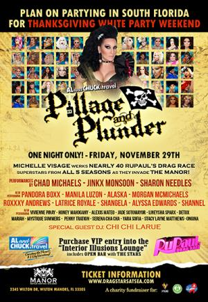Pillage & Plunder: Drag Race invades Wilton Manors