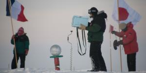 No Horizon Anymore:  A Year Long Journey at the South Pole